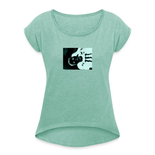 Mikkel sejerup Hansen cover - Dame T-shirt med rulleærmer