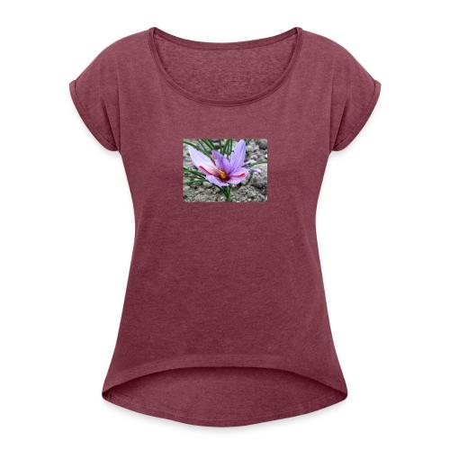crocus - T-shirt à manches retroussées Femme