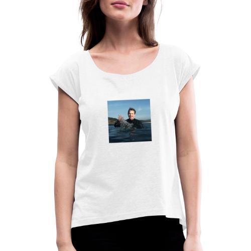 avatar - Frauen T-Shirt mit gerollten Ärmeln