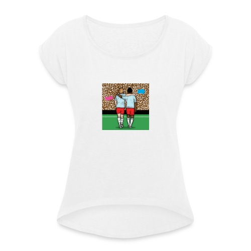 Acceptance Picture - Women's T-Shirt with rolled up sleeves