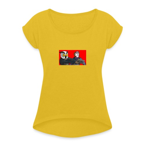 Zombies Extreme - Women's T-Shirt with rolled up sleeves
