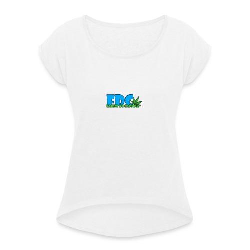 Logo_Fabini_camisetas-jpg - Camiseta con manga enrollada mujer