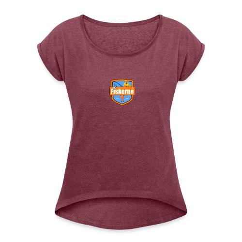 Fiskerne - Dame T-shirt med rulleærmer