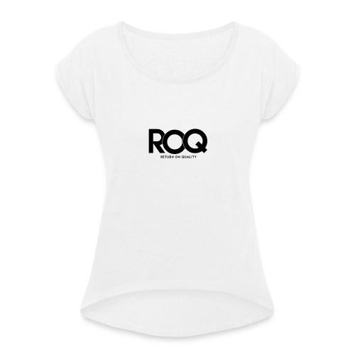ROQ (Return On Quality) Group by Roq - Vrouwen T-shirt met opgerolde mouwen