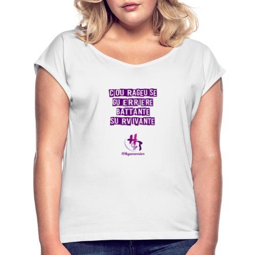 Les femmes HG warrior - T-shirt à manches retroussées Femme