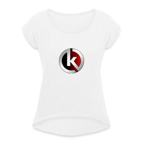 Karma - T-shirt à manches retroussées Femme