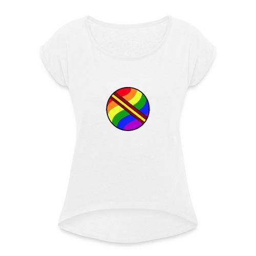 pelota lgtb-españa - Camiseta con manga enrollada mujer