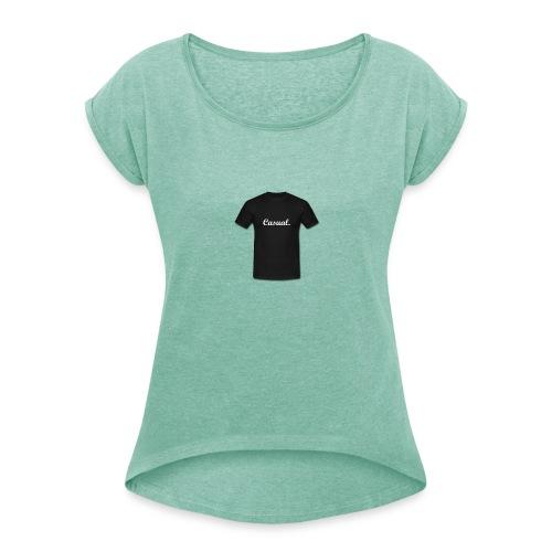 d2c_-2--png - Vrouwen T-shirt met opgerolde mouwen