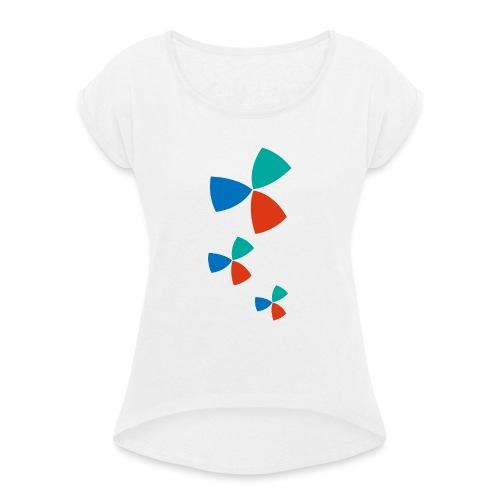 Trifogli - Maglietta da donna con risvolti