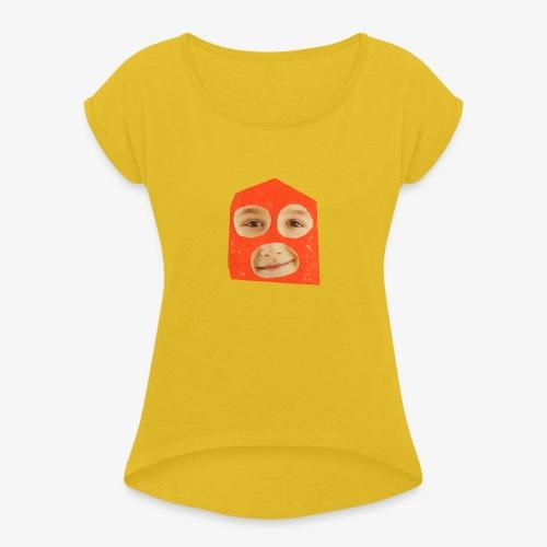 Abul Fissa - T-shirt à manches retroussées Femme
