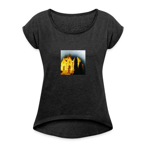Pegasus - Dame T-shirt med rulleærmer