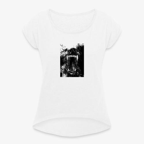 Loup - T-shirt à manches retroussées Femme