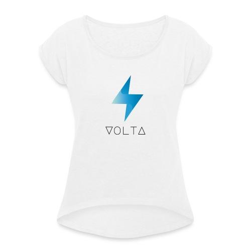 Volta (XVT) - Frauen T-Shirt mit gerollten Ärmeln