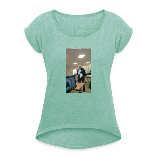Arnaud - Women's T-Shirt with rolled up sleeves