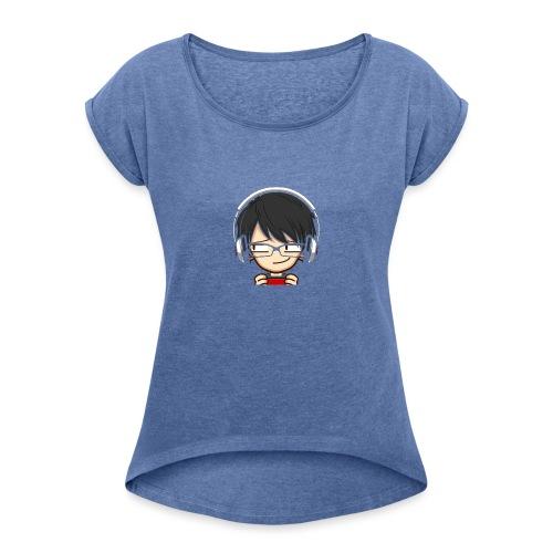 Gaming. - Camiseta con manga enrollada mujer
