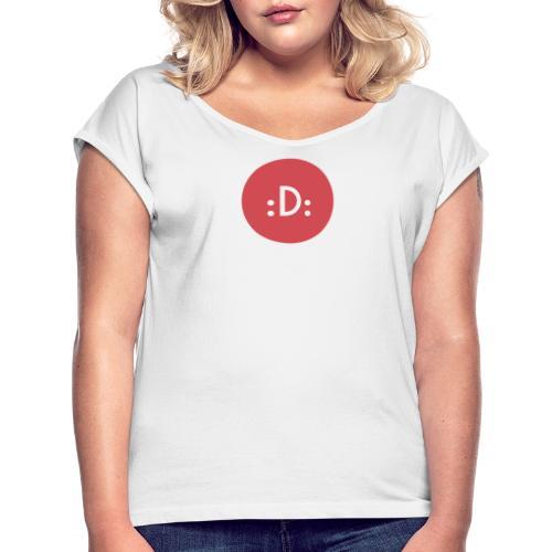 Code - :D: - T-shirt à manches retroussées Femme