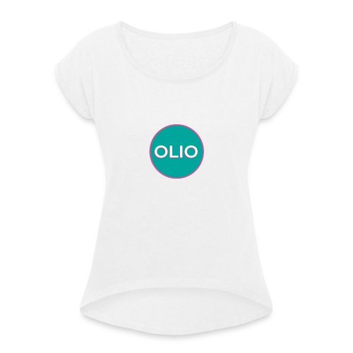 DIGITAL AMBASSADOR 1 - Women's T-Shirt with rolled up sleeves
