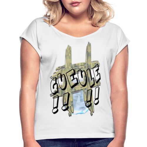 H-Tag Gueule - T-shirt à manches retroussées Femme