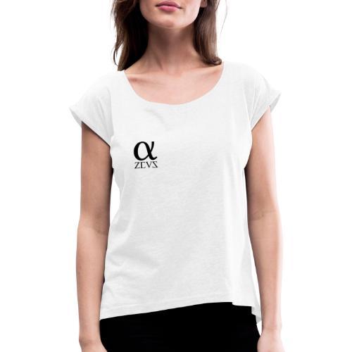 Zeus Alpha Kollektion - Frauen T-Shirt mit gerollten Ärmeln