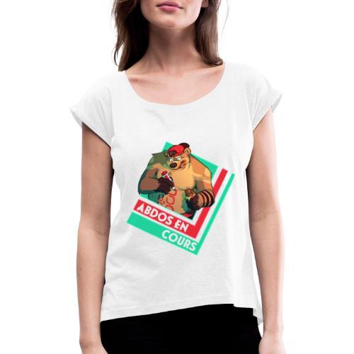 Abdos en cours - T-shirt à manches retroussées Femme
