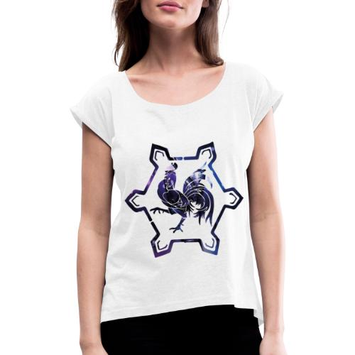 fier d'être carolo - T-shirt à manches retroussées Femme