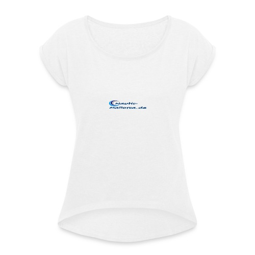 Yachting Mallorca - Camiseta con manga enrollada mujer