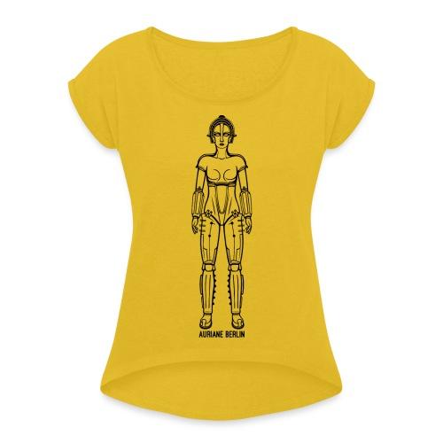 Maria - Frauen T-Shirt mit gerollten Ärmeln