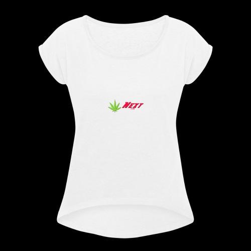 Next - T-shirt à manches retroussées Femme