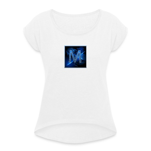 Mad Champz - Women's T-Shirt with rolled up sleeves