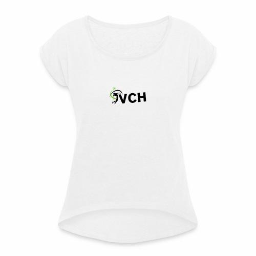 VCH PETIT LOGO - T-shirt à manches retroussées Femme