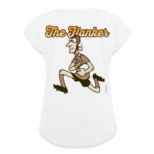 Flanker_Marplo_mug.png - Maglietta da donna con risvolti