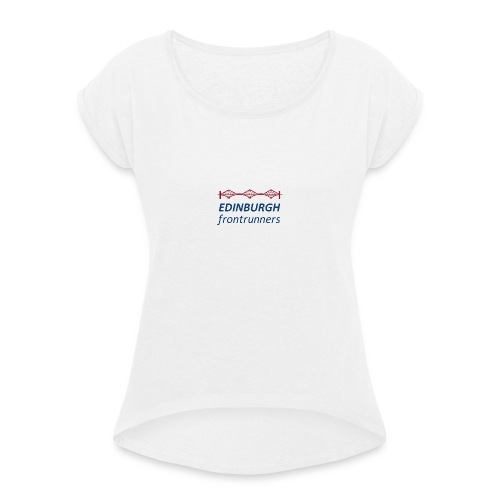 efr - Women's T-Shirt with rolled up sleeves