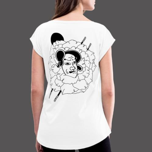 NAMAKUBI - T-shirt à manches retroussées Femme