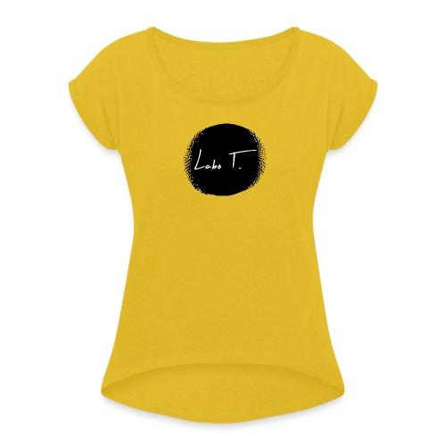 Logo Labo T. - T-shirt à manches retroussées Femme