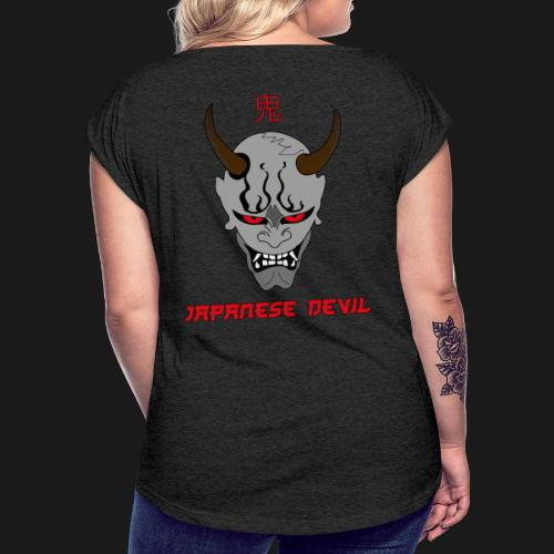 Oni - T-shirt à manches retroussées Femme