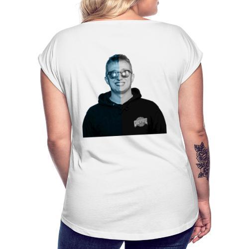 Vald - T-shirt à manches retroussées Femme