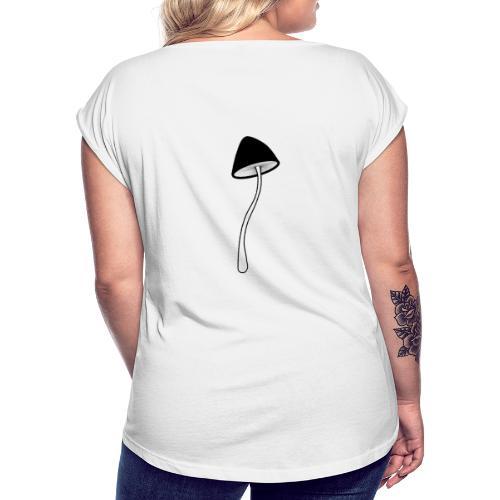 mush no name - T-shirt à manches retroussées Femme