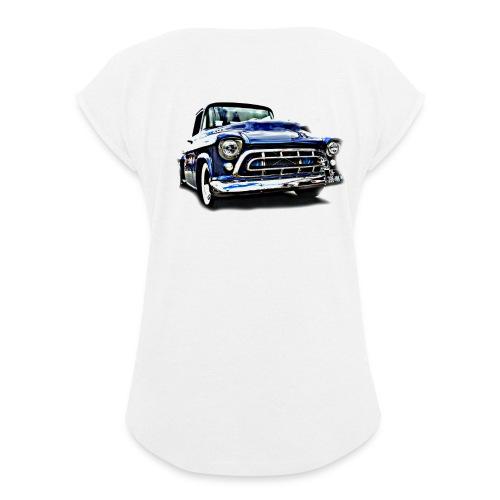 ok 175 - T-shirt à manches retroussées Femme