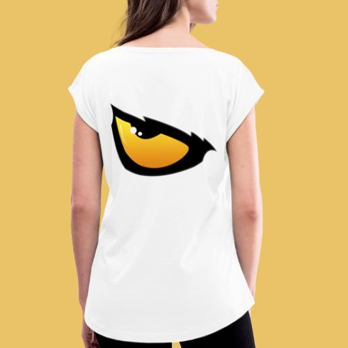 Gašper Šega - Women's T-Shirt with rolled up sleeves
