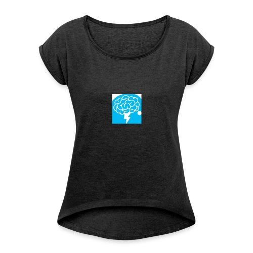 Authentic Mental Health - Women's T-shirt with rolled up sleeves