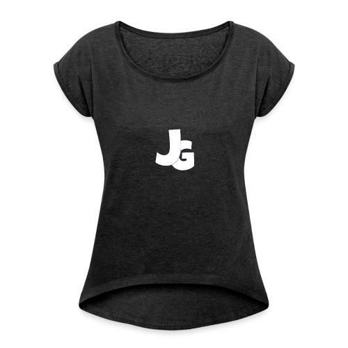 Classic Life - Frauen T-Shirt mit gerollten Ärmeln