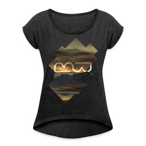Men's shirt Album Cover - Women's T-shirt with rolled up sleeves