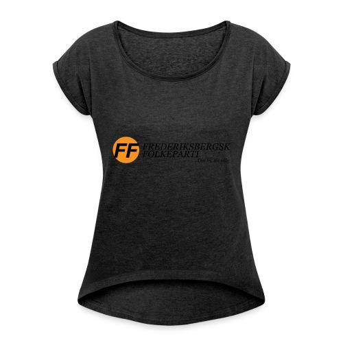 Din by, dit valg - Dame T-shirt med rulleærmer