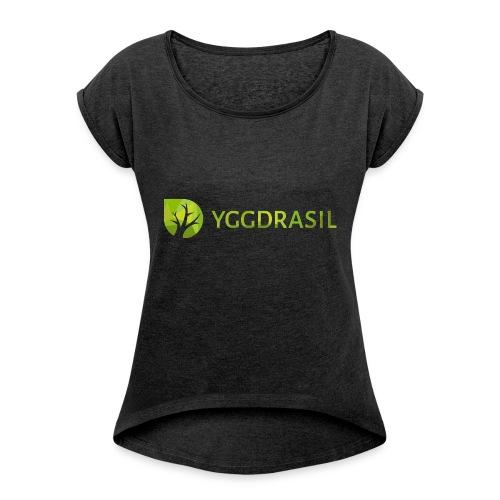 Yggdrasil Geocoder - Frauen T-Shirt mit gerollten Ärmeln