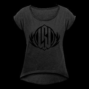 WPS ORIGINAL - T-shirt à manches retroussées Femme
