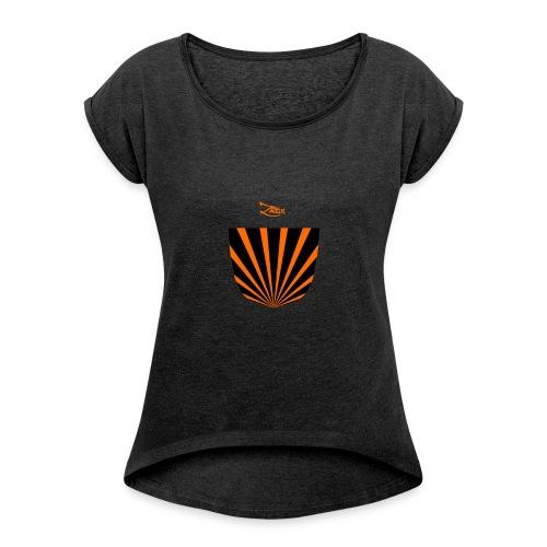 tasca_japan - Maglietta da donna con risvolti