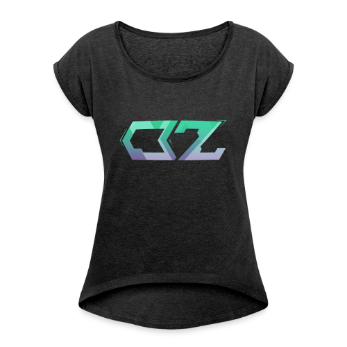 OZ fx - Women's T-shirt with rolled up sleeves