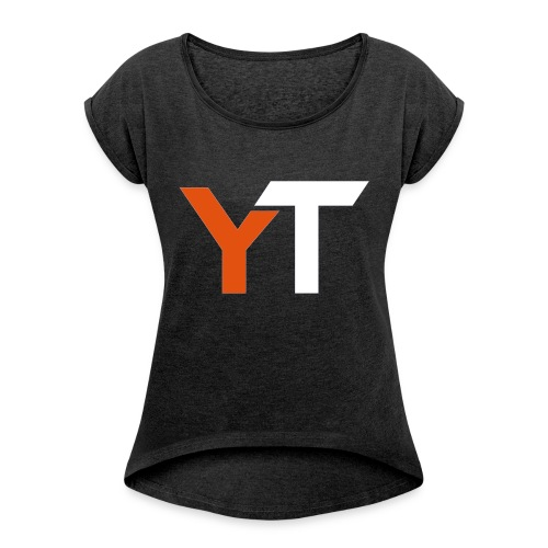 Yogii Tube - Women's T-shirt with rolled up sleeves
