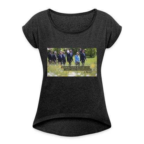 Opera #1-jpg - Maglietta da donna con risvolti