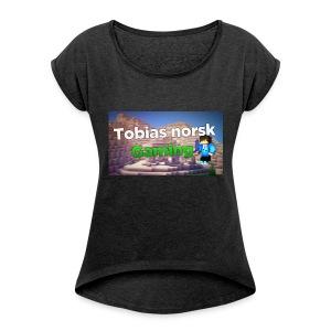 Tobias Norsk Gaming - T-skjorte med rulleermer for kvinner